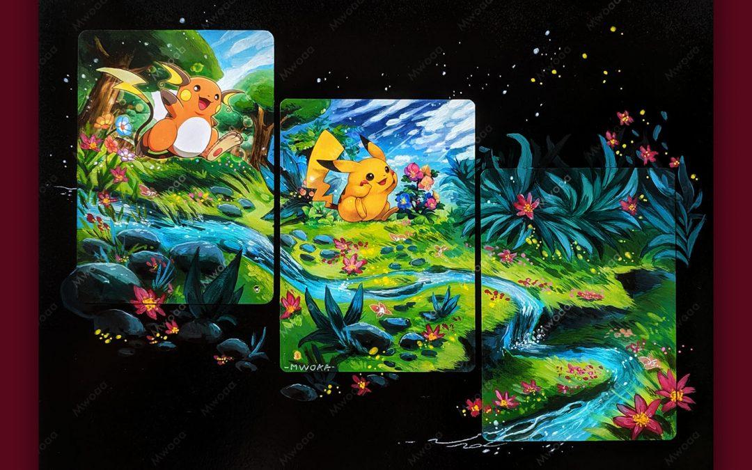 Composition Pikachu Raichu